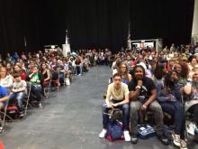 Cops and Monsters panel at MCM Comic Con London 1