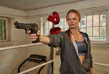 Maya Draws Her Gun in 'Cops and Monsters' - 18 July 2015