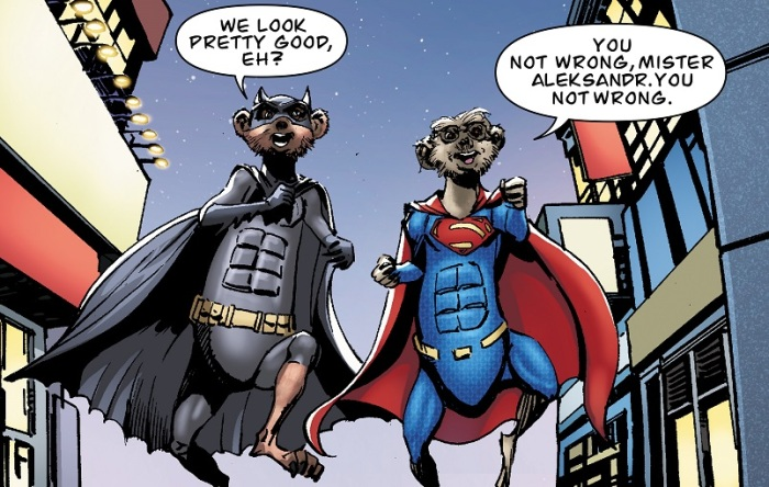 EMBARGO 00.01 13th May: DC Comic book legend Neal Adams illustra