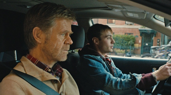 William H. Macy and Emory Cohen in Stealing Cars