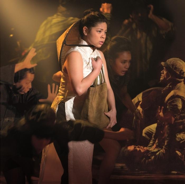 Eva Noblezada as Kim (2) in 'Miss Saigon The 25th Anniversary Performance'