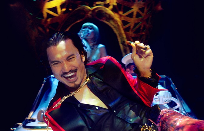 Jon Jon Briones as The Engineer in 'Miss Saigon the 25th Anniversary Performance'